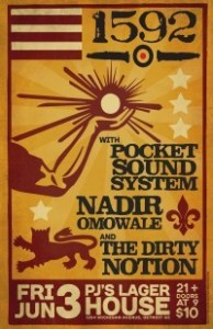 1592 Reggae Soul Party with Nadir Omowale