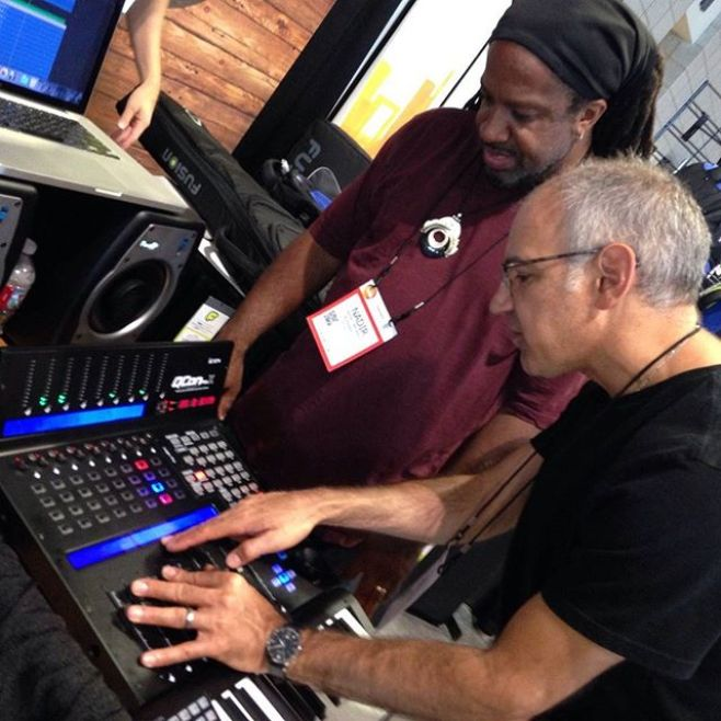 Multiple Grammy-winning engineer Neal Cappellino puts the @IconProAudio #QConProX through its paces at #SummerNAMM