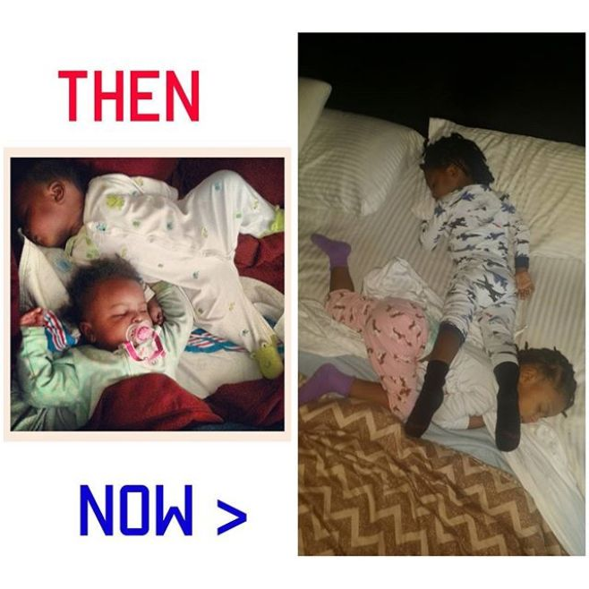 The more things change...#OmoWonderTwins