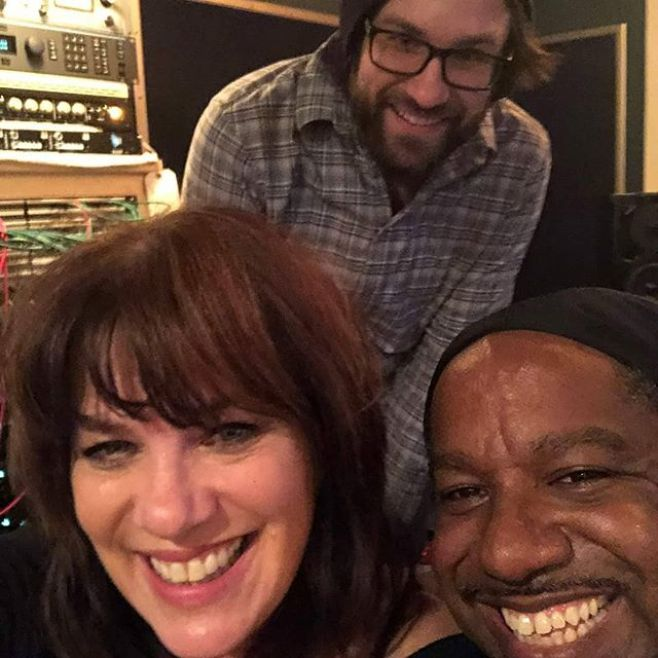 ALL SMILES!! We had so much fun tracking vocals with the amazing Ms. Jill Jack at The 45 Factory - Recording Studio with Bryan Reilly engineering. New sounds on the way...