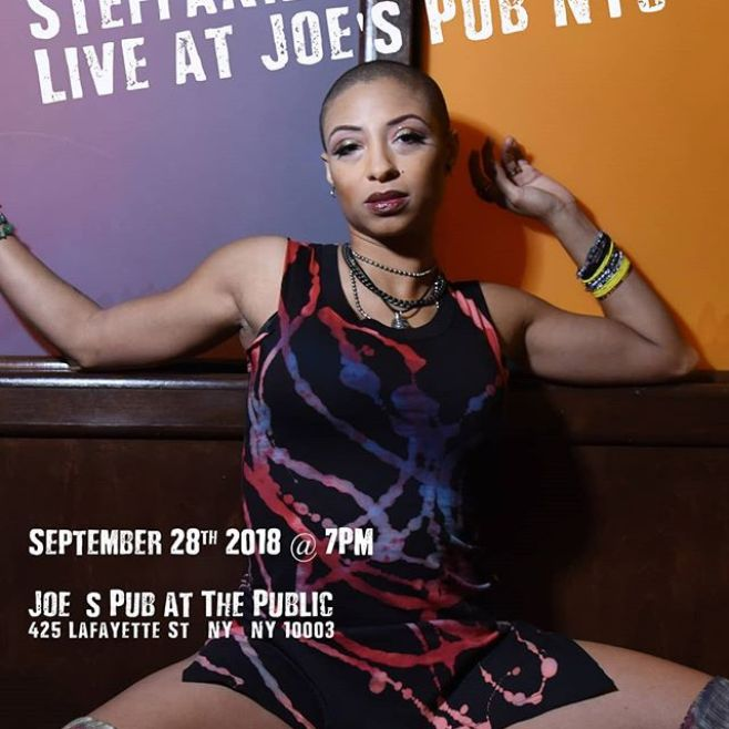 "My New York/New Jersey People!! THIS FRIDAY get a taste of some HOT DETROIT ROCK AND ROLL!! I'll be at @joespub sangin' and slangin' guitar for"" the incredible Steffanie Christi'an (@steffchris)! Come out and rock with us!"