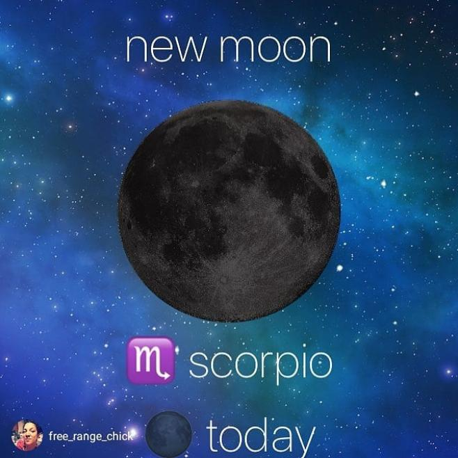 """My Scorpio moon is on the rise."" #FortuneAndFantasy #NewBeginnings"