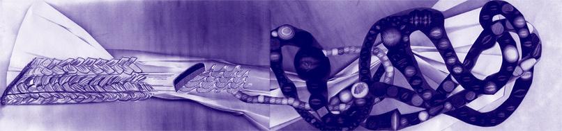 WAVEBAND 1, created by Jannie Weimar