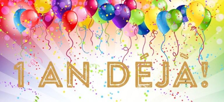 Joyeux anniversaire + Concours FINI