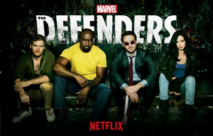 The Defenders banner