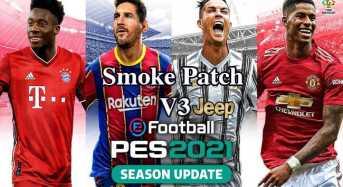 SmokePatch21 v3 PES2021 bản cập nhật 27/5/2021