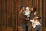 Семейная фотопрогулка осенью, фотограф в Риге Надя Рубина