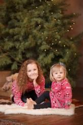 Сестрички у ёлочки, новогодняя фотосессия