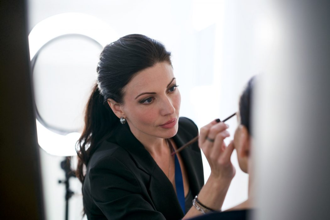 professional MUA artist, bride makeup