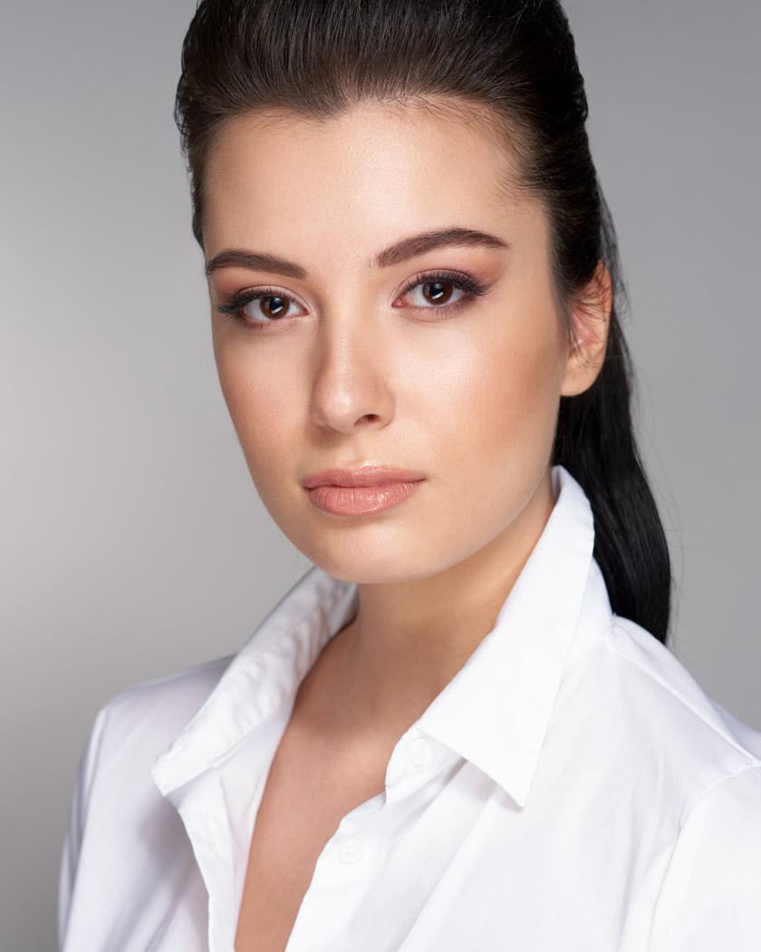 soft glam makeup photography