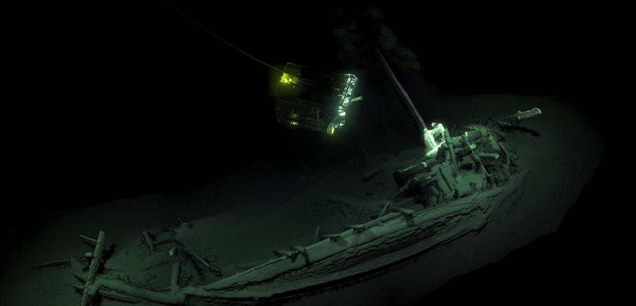 Ältestes intaktes Schiffswrack der Welt entdeckt