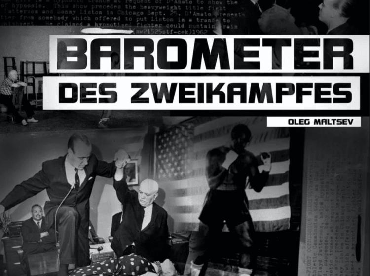 """Lieber Damen und Herren, wir präsentieren Ihnen neues Buch """"Barometer des Zweikampfes""""."""