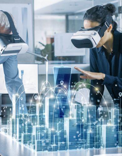 VR und AR sind Immobilieninnovationen. Moderne Technologien im Dienst der Bauträgerunternehmen