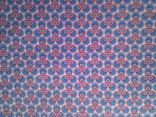 Blumenzauber blau (tante ema Stoffe) / 14,- pro lfm/ 100% CO