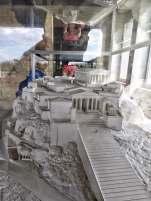 Am Modell des Akropolis in der rekonstruierte Stoa des Attalos kommt es zum Showdown: Die Akkus sind voll, auf der Speicherkarte ist Platz ... los gehts ...