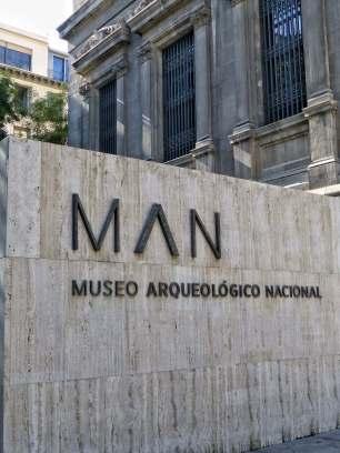 """Das Neue Archäologische Nationalmuseum, kurz """"MAN"""" genannt."""