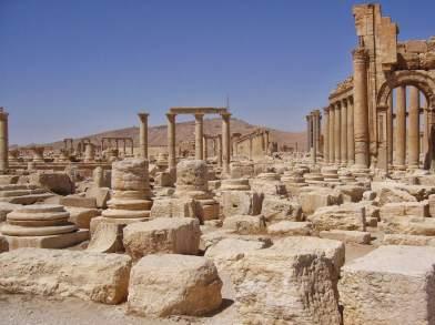 Kaiser Aurelian lässt 272 n. Chr. die Stadt Palmyra zerstören. Zum zweiten Mal hatten sich die Bewohner gegen die römische Besatzung erhoben.