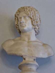 Büste eines jungen Barbaren - bekannt als Arminius