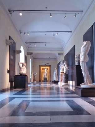 Statuen und Büsten aus den Horti Lamiani im Konservatorenpalast