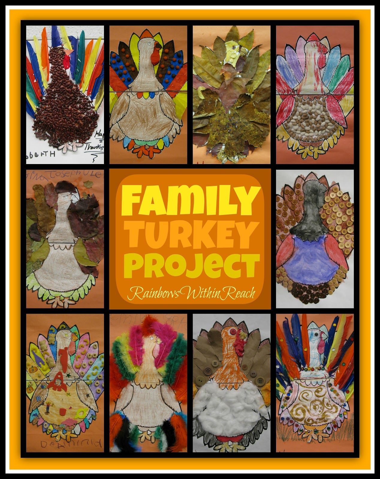 4 Best Turkey Art Projects For Kindergarten Images On All