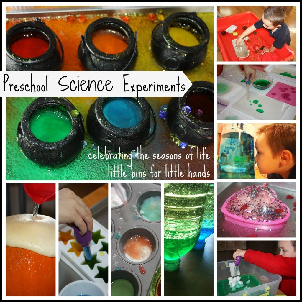 Preschool Science Experiments Kindergarten And Early