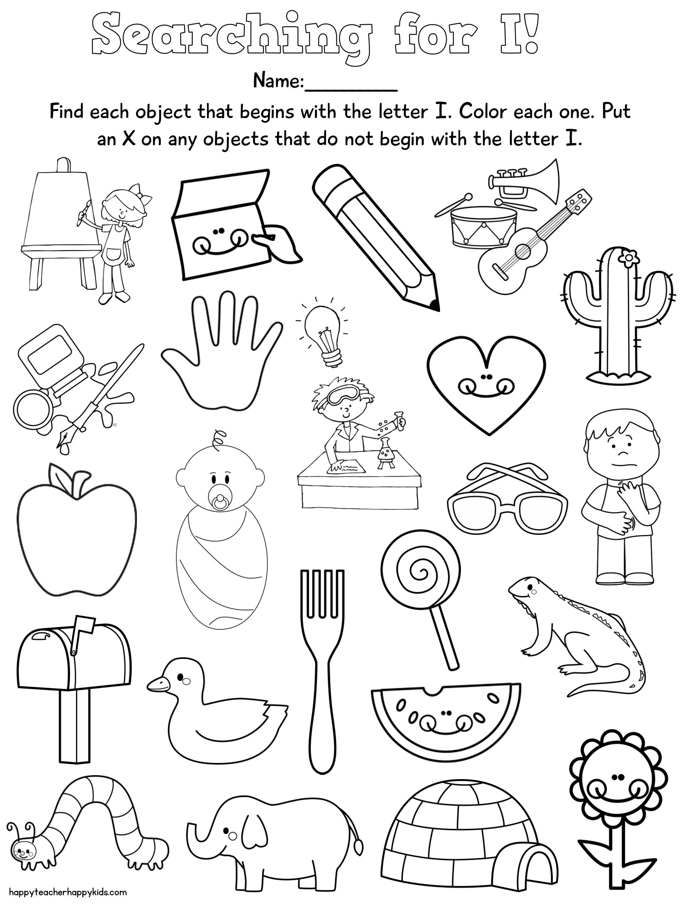 19 Best Worksheets Kindergarten Lesson Images On All About
