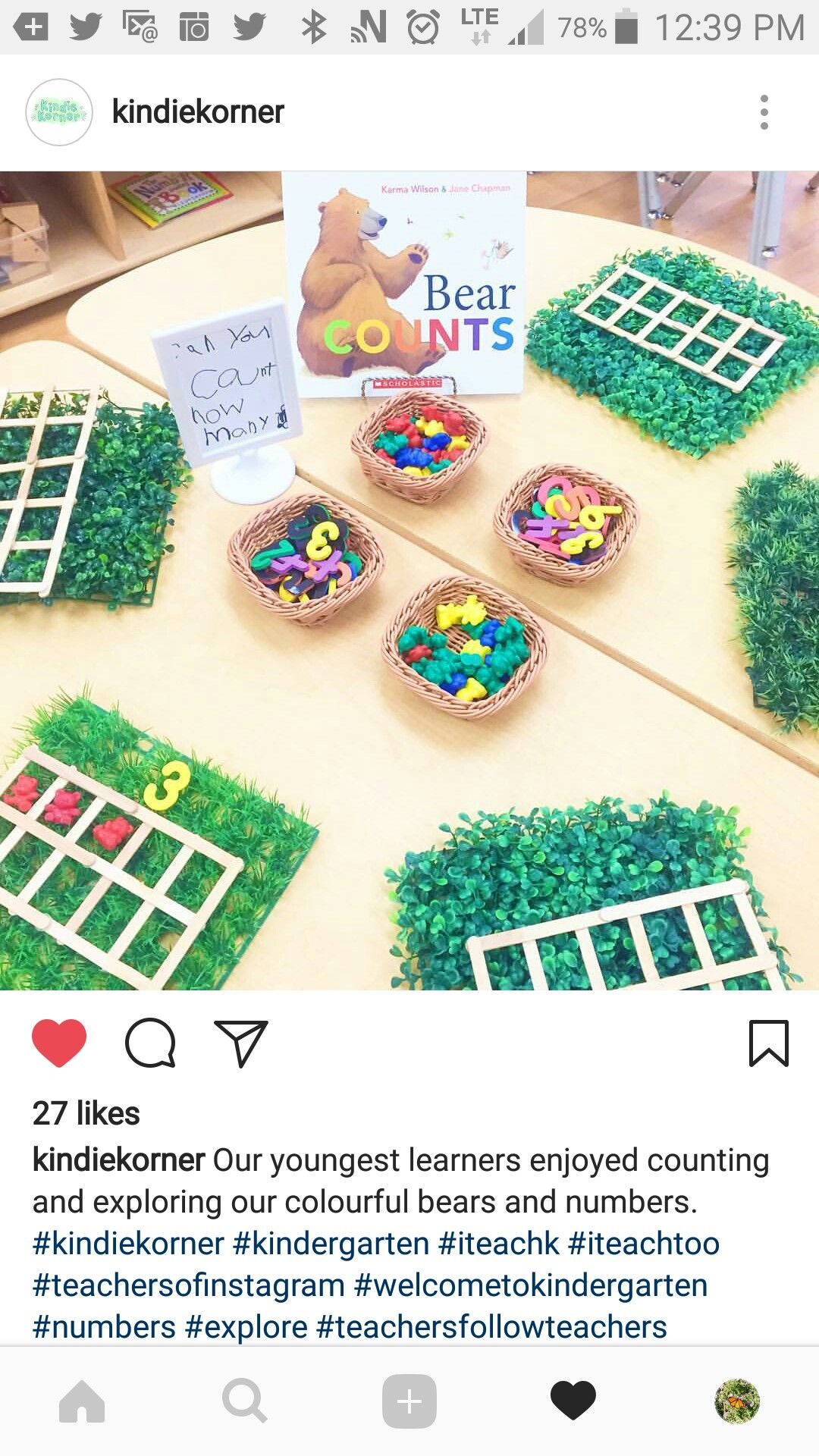 22 Best Kindergarten Math Counting How Many Images On All