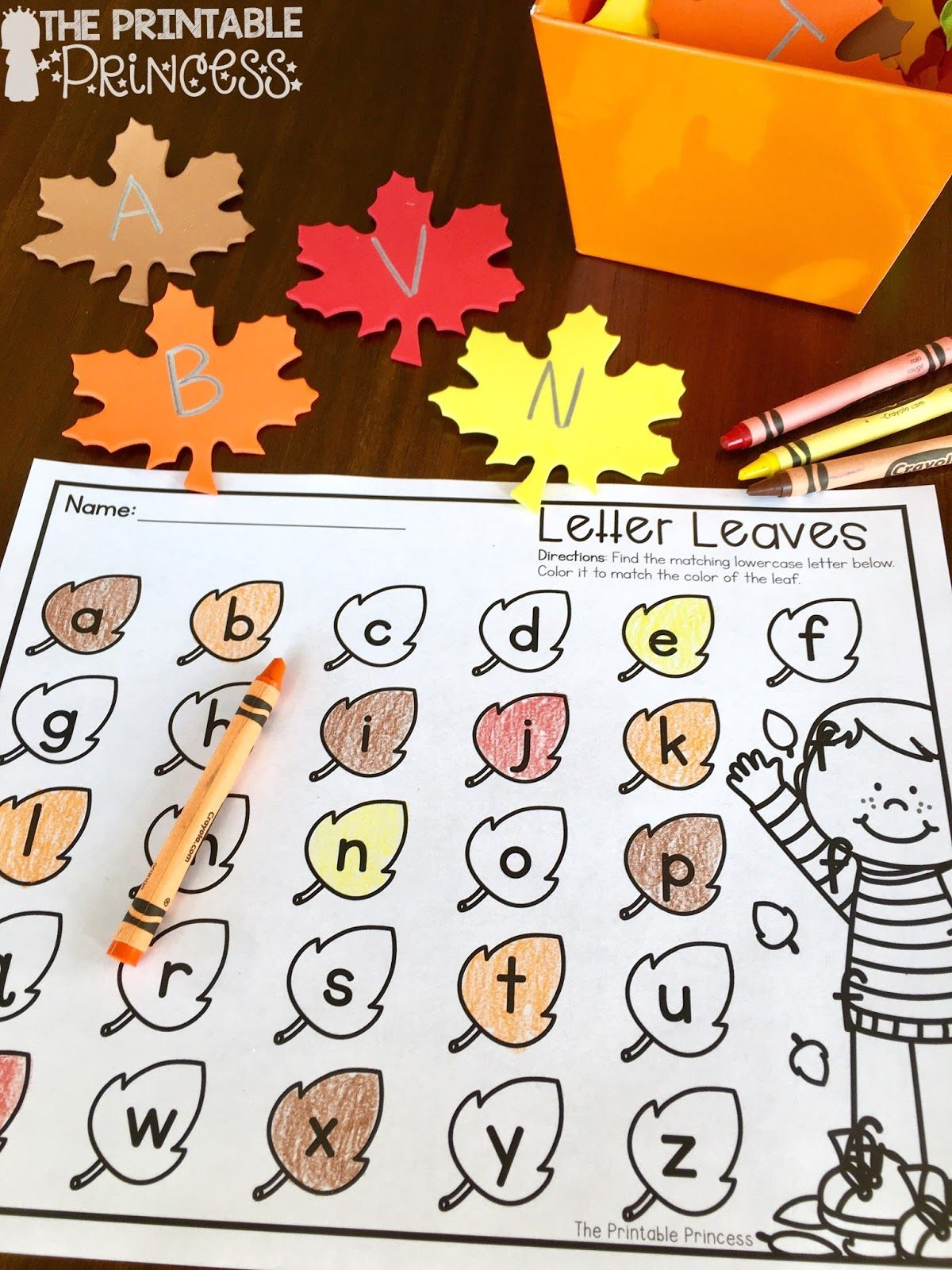 Easy Fall Centers For Kindergarten Plus Some Fall