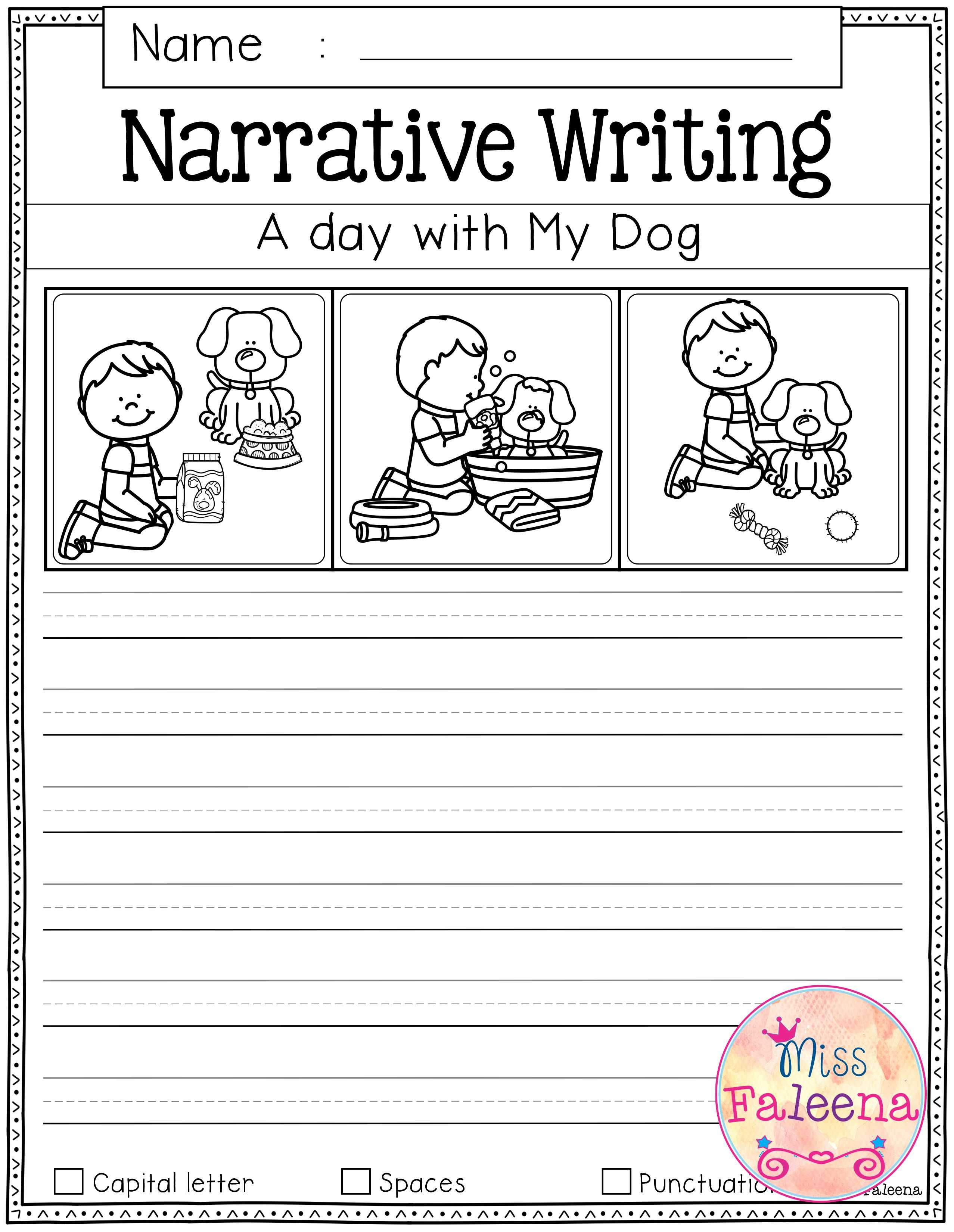 15 Best Kindergarten Narrative Writing Sample Images On