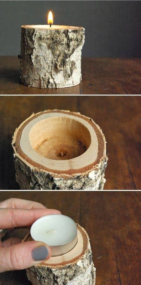 Wooden-Candle-Holder