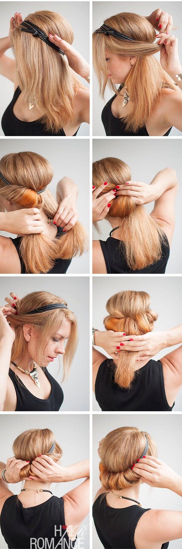 прически на длинные волосы пошаговой инструкцией фото