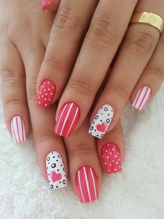 Valentine-nail-heart-design-1