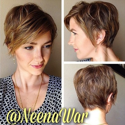 -Short-Haircuts-with-Side-Swept-Bangs