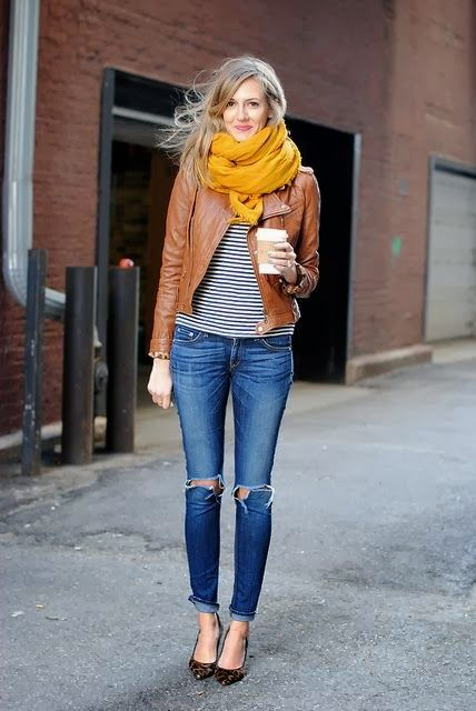 Casual-Outfit-with-Leather-Jacket-1