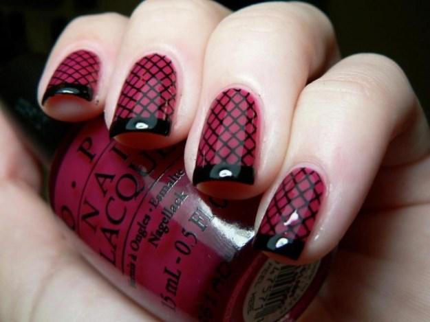 burgundy-and-black-nail-design-630x473