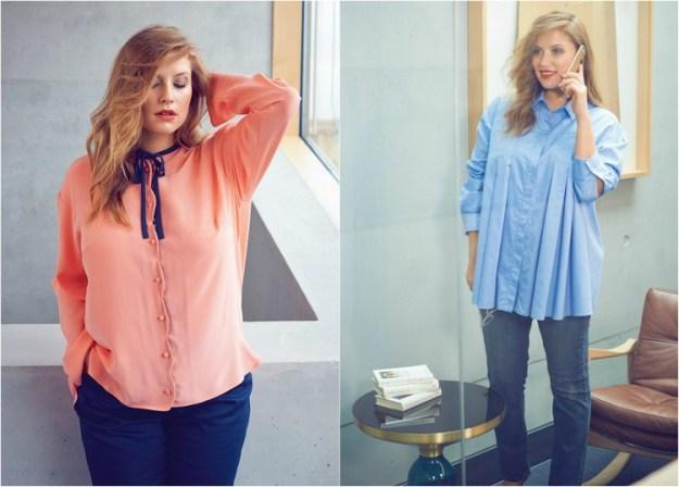 mode-mollige-trendy-schlank-machen-hemden