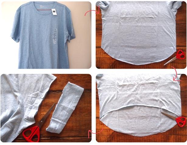 Топики своими руками из футболок