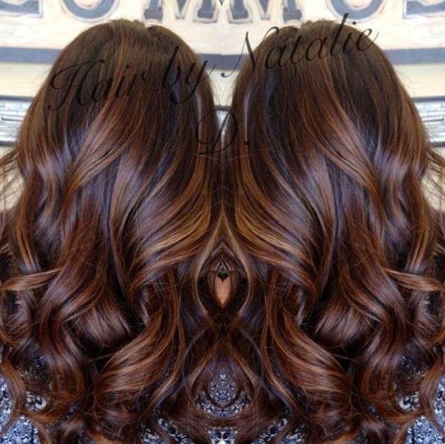 Окрашивание-балаяж-на-темные-волосы-2