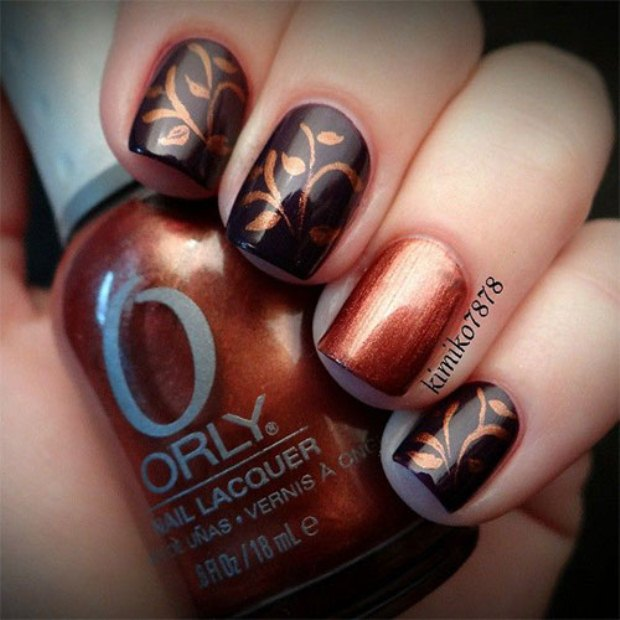 Cute-Easy-Fall-Nail-Art-Designs-Ideas-Trends-Autumn-Nails