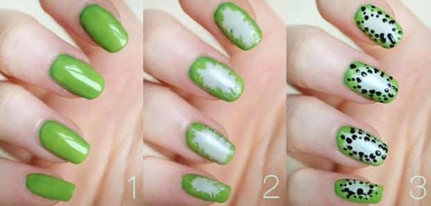 Kiwi-Nail-art