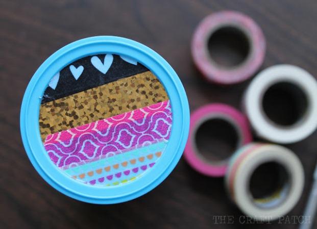 washi tape sunglasses case 5
