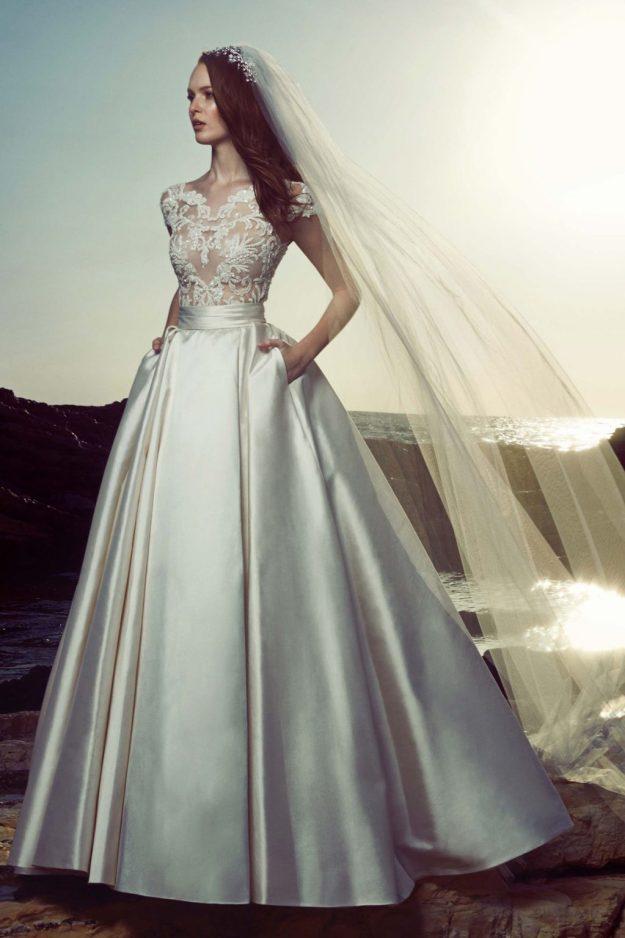 Свадебная мода - платье в пол