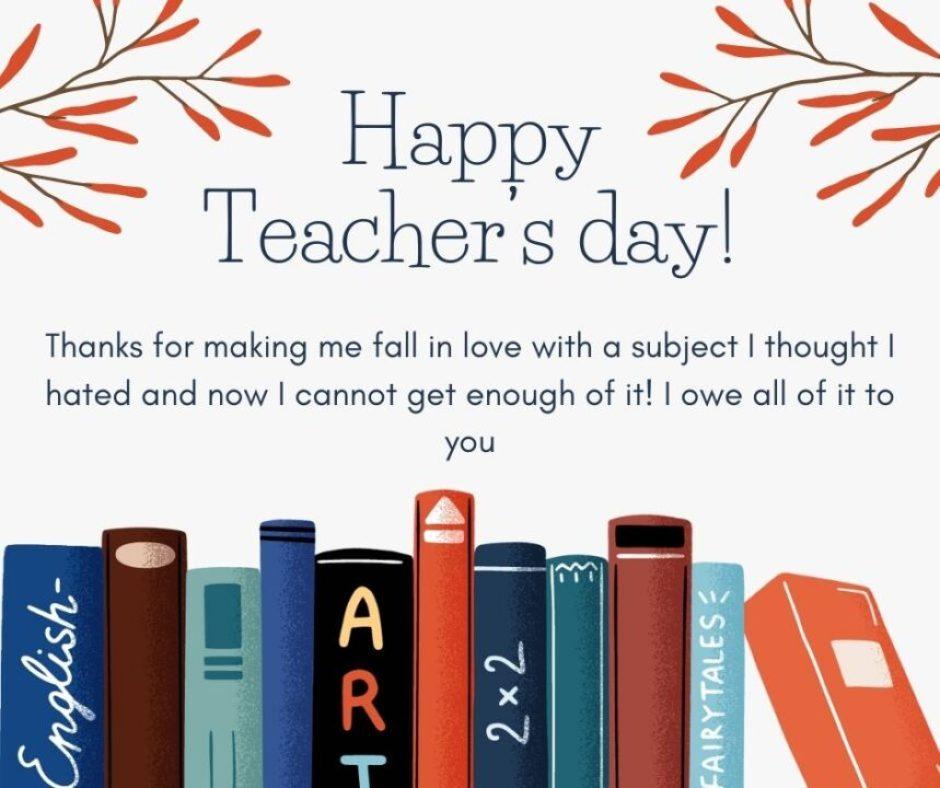 Teachers day cards