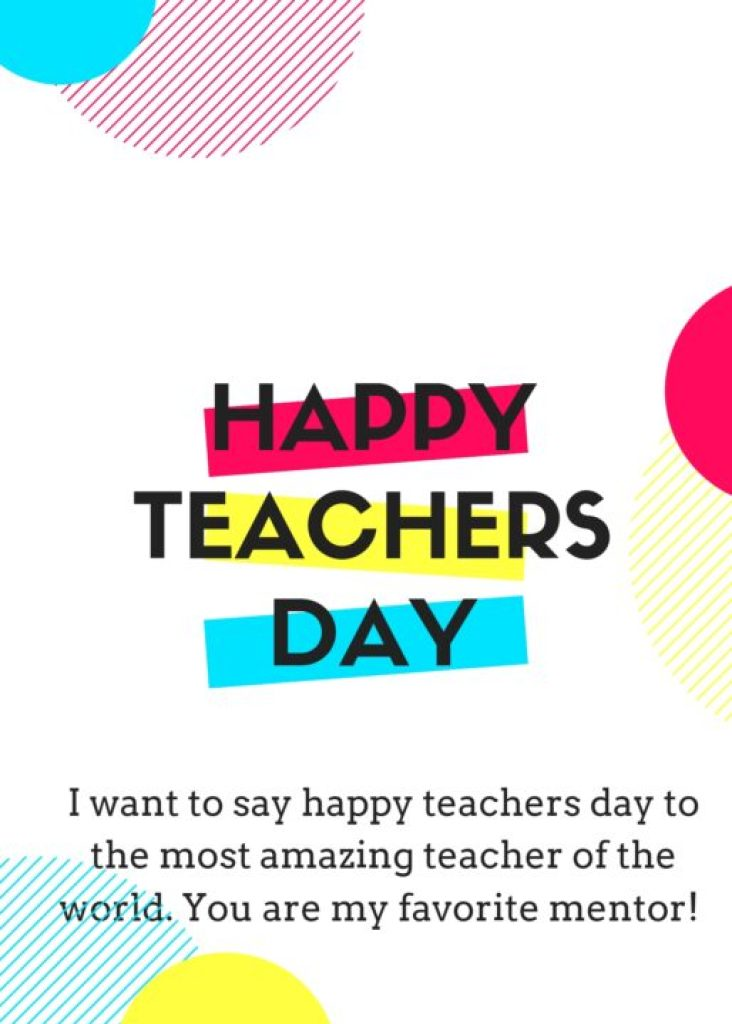 Teachers day quotes for status