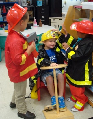 dramatic play firefighters