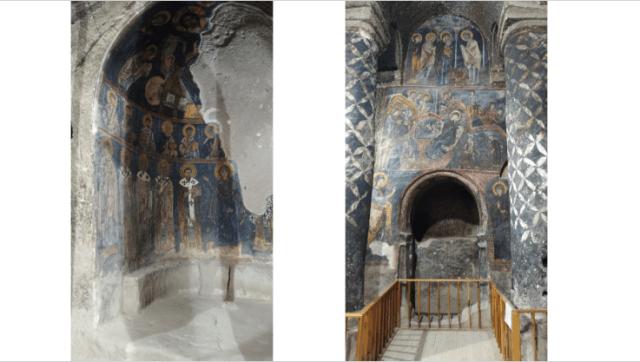gümüşler manastırı duvar resimleri
