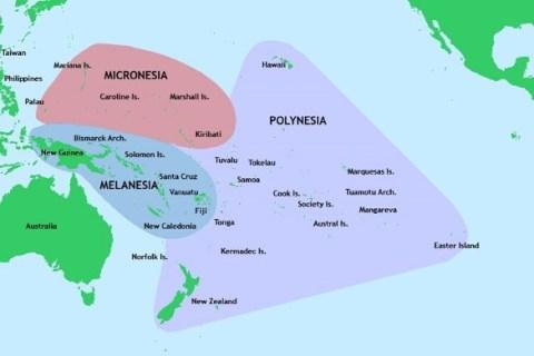 Okyanusya Vizesiz Ülkeler Listesi
