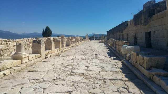 kibyra antik kenti agora