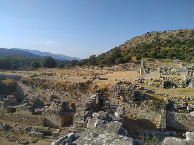 xanthos fotoğrafı