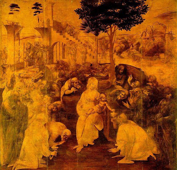 Magi'nin Katkısı Leonardo da Vinci'nin az bilinen tabloları